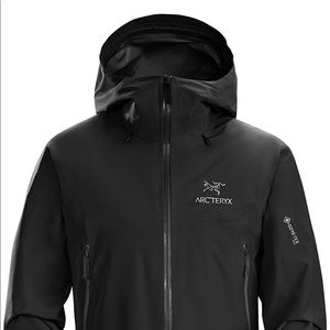NWT Arc'teryx Black Beta LT Goretex Jacket Large